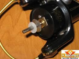 регулировка укладки шнура на шпулю